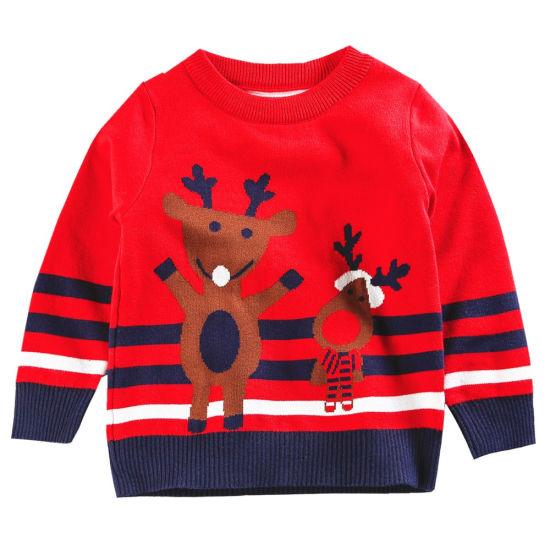 Boys Girls Baby Design Deer Ugly Christmas Sweater China