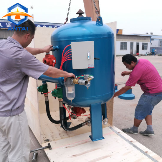 China Industrial Sandblasting Equipment Dry Sand Blast