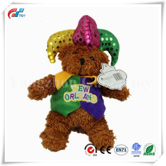 Newest Custom OEM Design Funny Bear Jokey Bear Toy