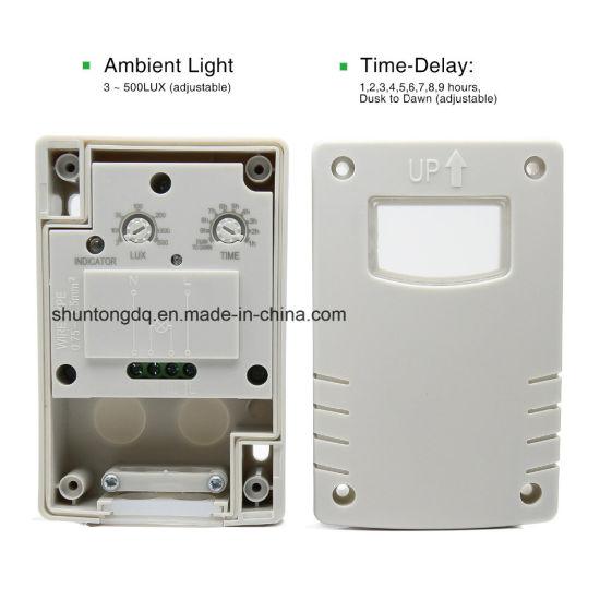 China Outdoor Ip44 220vac Light Control Photo Sensor Switch