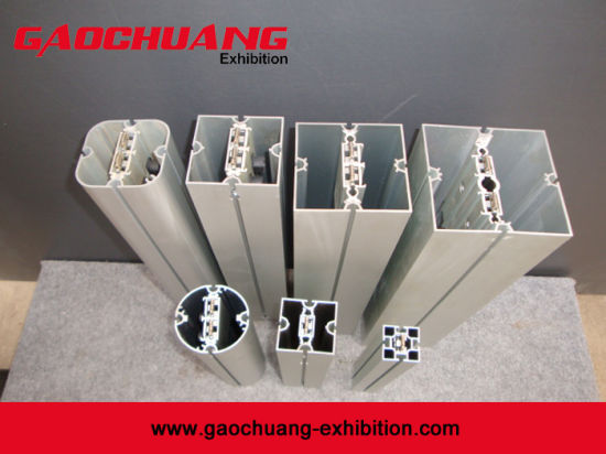 Aluminum Square Exhibition Extrusion Booth Stand Trade Show Display pictures & photos