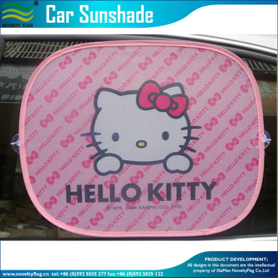 Mesh Fabric Ar Side Window Cartoon Sunshade (NF29F14017) pictures & photos