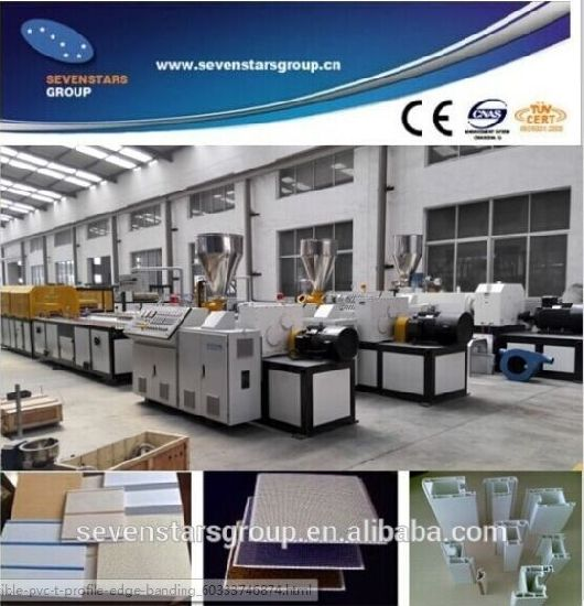 PVC Ceiling Panel Board Extrusion Making Machine