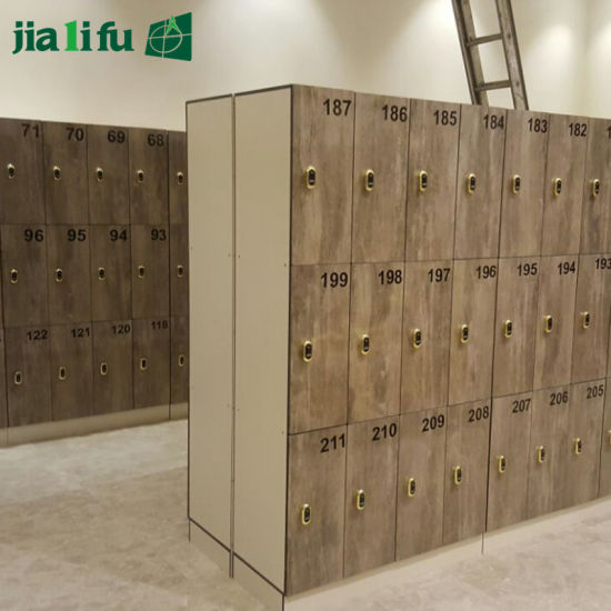 Jialifu Compact Laminate Dressing Room Locker with Bench pictures & photos