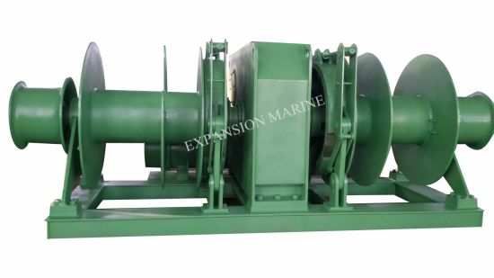 15t Double Drum Electric Mooring Winch