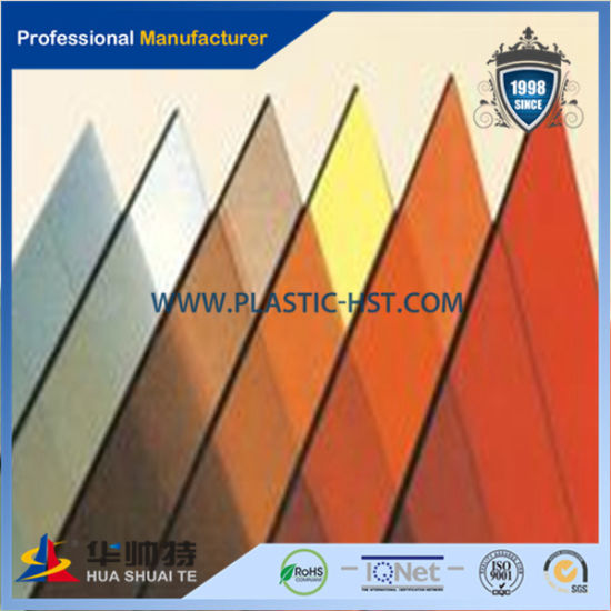 China Bayer Decorative Bathroom Door Material Colored Polycarbonate ...