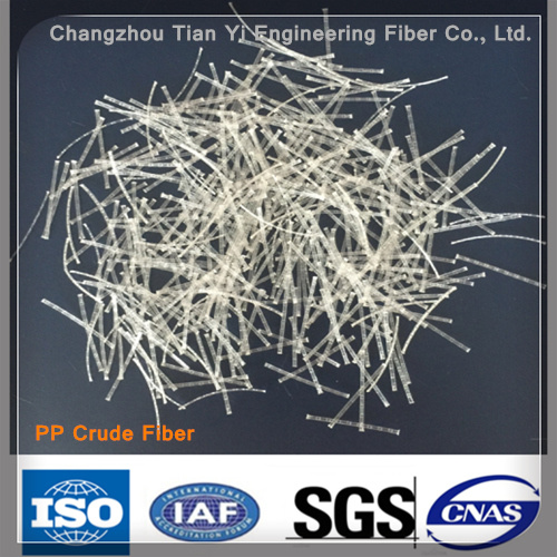 High Quality Best Price PP Fiber Steel-Wire-Like Fiber Crude Polypropylene Fibres