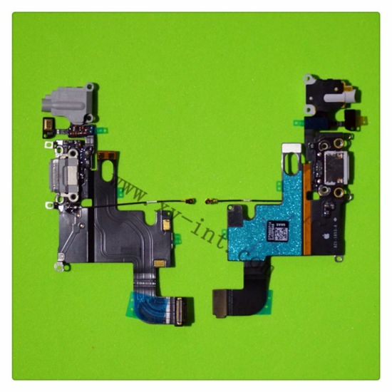Dock Connector Charging Port Flex Cable Ribbon for iPhone6 6g pictures & photos
