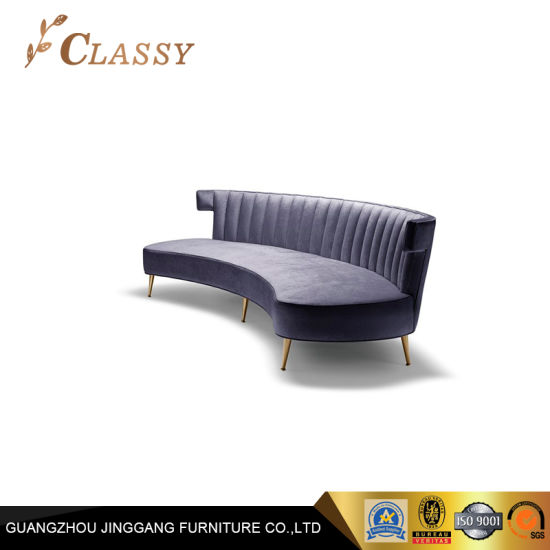 2018 New Design Wholesale Living Room Sofa with Metal Legs