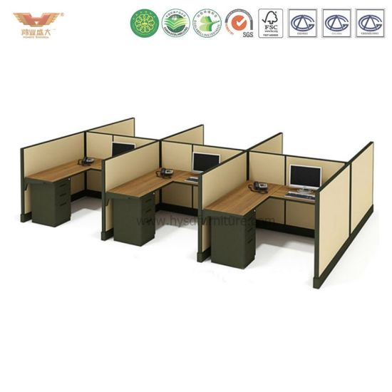 china office furniture workstations and office cube for 4 people rh office chair en made in china com Office Cubicle Systems cube space office furniture