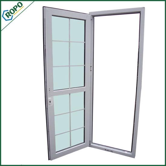 China Custom Upvc Kitchen Doors Double Glazed Plastic Door China