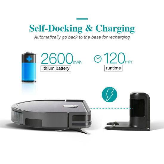 New Design Robot Vacuum Cleaner for Home Cleaning, Smart Robot Cleaner