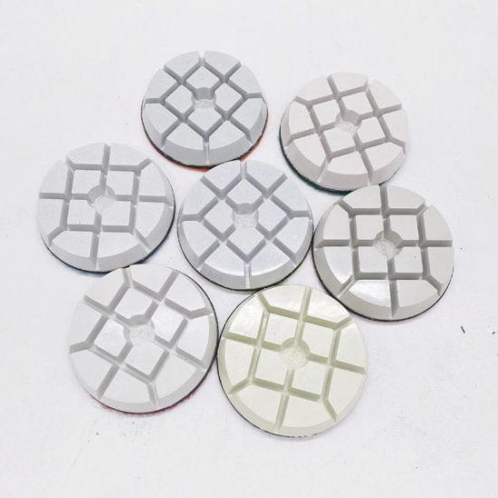 3 Inch 15mm Velcro Concrete Floor Dry Resin Polishing Pads