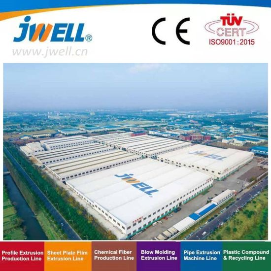 Jwell Pet PLA PC PMMA ABS GPPS HIPS PP PE PVC Pbat Sheet/Plate/Board Extrusion Line/Plastic Extruder/Making Machine/Plastic Machinery