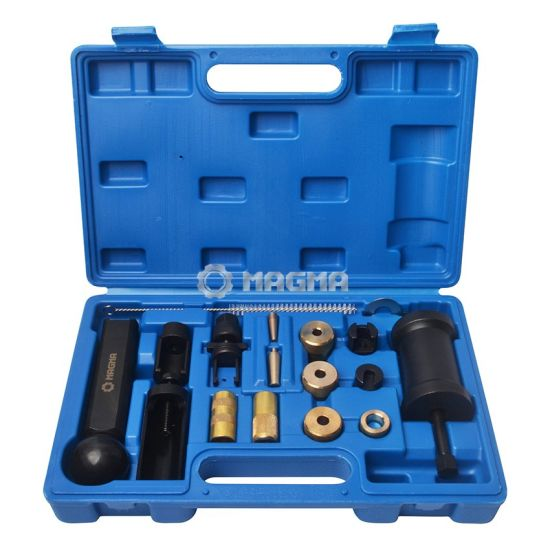 18 Piece FSI Injector Puller Set Injector Service Tool Kit for Audi Vw Engines Diesel