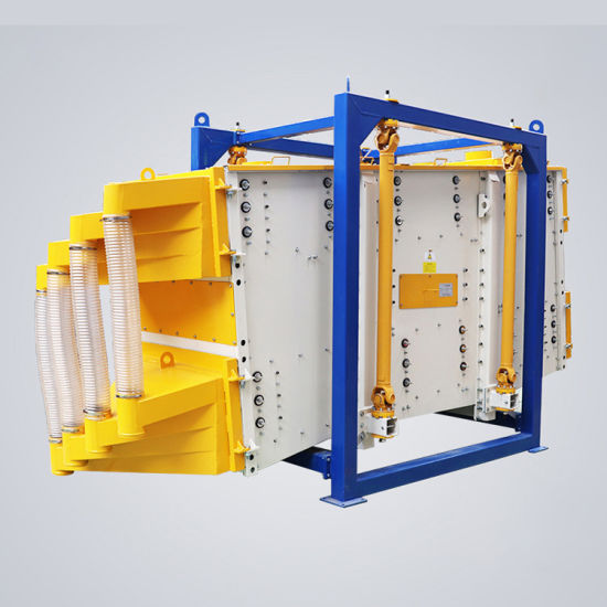 Silica Sand Accurate Separations Gyratory Motion Square Swinging Screen