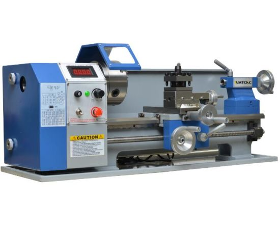 D210V 21mm spindle Small Hobby Lathe Machine with CE