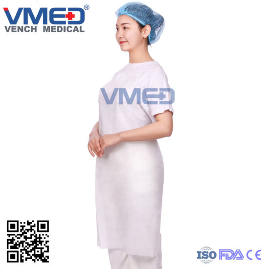 Disposable SMS Apron Protection Kitchen Use Product Individually Packed