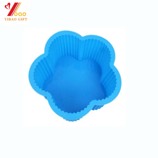Food Grade Silicone Cake Mold for Kitchen Bakeware (YB-AB-022) pictures & photos