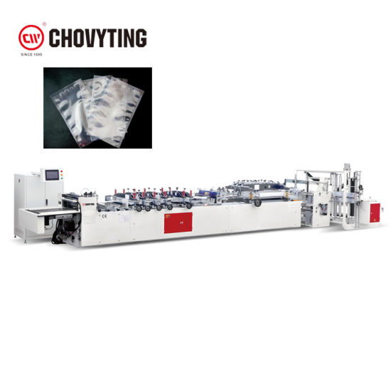Automatic 3 Sides Weld Sealing Vacuum Bag Pouch Making Machine