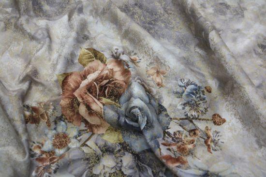 Printed Sofa Velvet Fabric Multicolor for Sofa, Sofa Cushion, Home Textile
