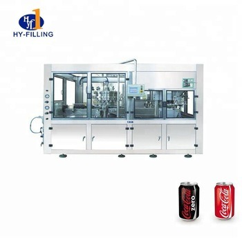 Small Bottle Tin Can Beverage Juice Energy CSD Carbonated Drink Packing Machine pictures & photos