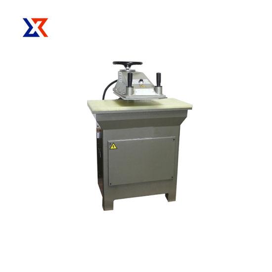 Hydraulic Swing Arm PVC Film Clicker Press Shoe Cutting Machine