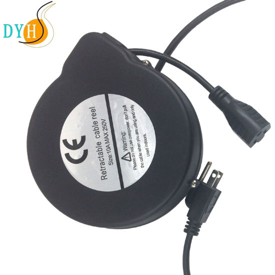 Auto Cable Reel 220V Cable Cord Reel Retractable pictures & photos