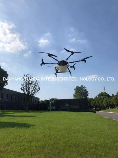 Agricultural Plant Protection Drone Flying Sprayer Crop-Dusting Drones GPS Intelligent Aviation Pesticide Uav