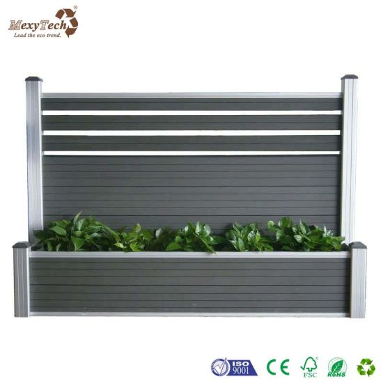 Stupendous Guangzhou Wood Plastic Composite Wpc Garden Fence With Planter Box Andrewgaddart Wooden Chair Designs For Living Room Andrewgaddartcom