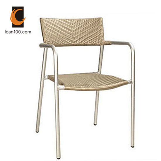 Water Proof Dining Outdoor Restaurant Furniture Dining Bar Stool Chair