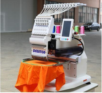 Single Head Nine Needle Sewing Embroidery Machine