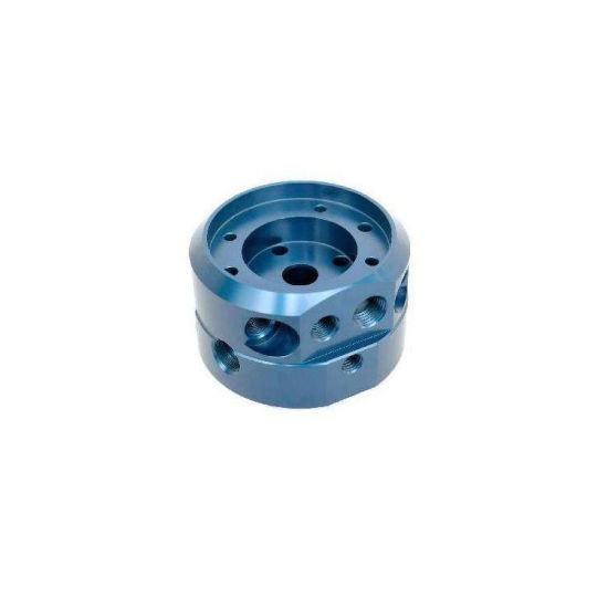 High Precision Aluminum Impeller 5 Axis CNC Machining Parts with Hard Anodized pictures & photos