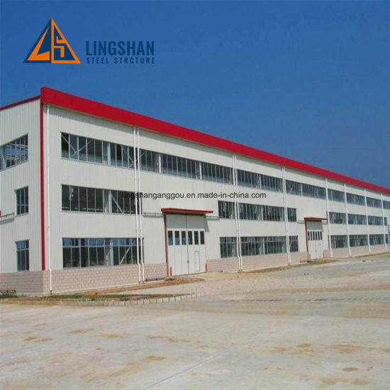 China Cheap Eps Sandwich Panel Steel Workshop Buildings Factory Shed