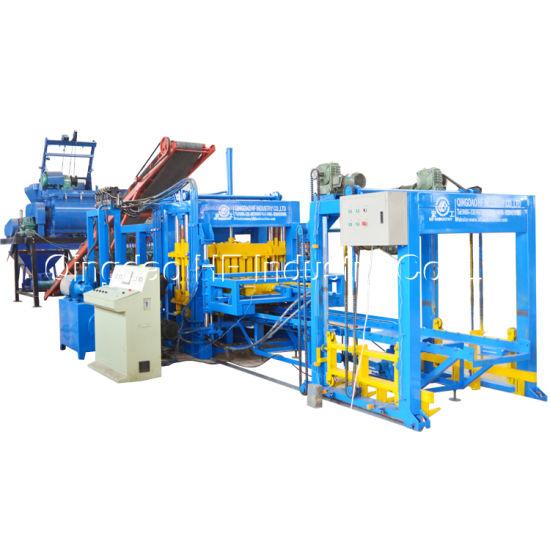 China Building Equipment Qt6-15 Full Automaticcement Concrete Block