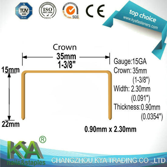 (EI22CC) Carton Close Staple for Packaging pictures & photos