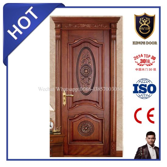 Modern Soild Swing Wood Interior Doors