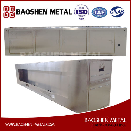 Stainless Steel Metal Shell/Box/Cabinet Metal Production Machinery Parts pictures & photos