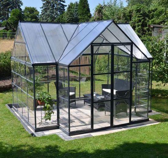 2016 factory new design aluminum sun rooms winter garden glass house greenhouse ts 524