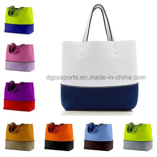 Nice Lady Waterproof Neoprene Tote Beach Bag With Handle