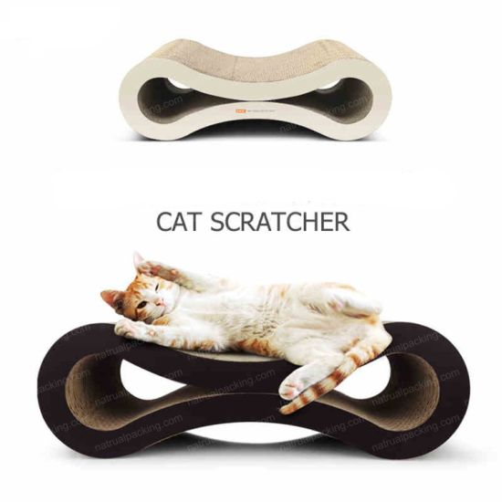 Safety Eco-Friendly Pet Toy Print Sofa Cat Scratching Board pictures & photos