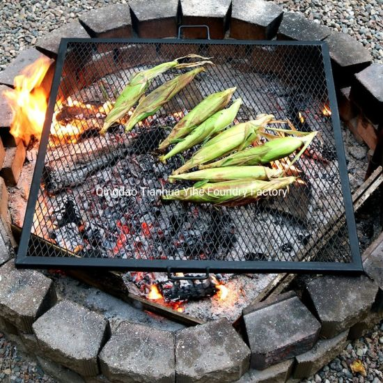 X Marks Fire Pit Cooking Grill Grate