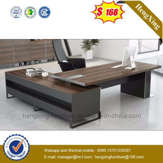 Indian Market Home Use Dark Grey Color Executive Desk Hx Et14041