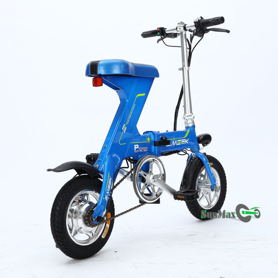 60 Km Range Fold Electric Bike
