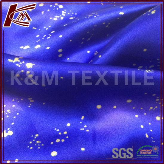 16mm Digital Printed Pure Silk Crepe Stain Plain Silk Fabric for Dress