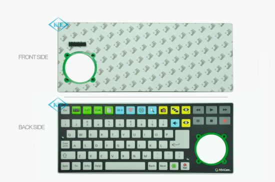 PCB Circuit Board with Membrane Keyboard Switch pictures & photos