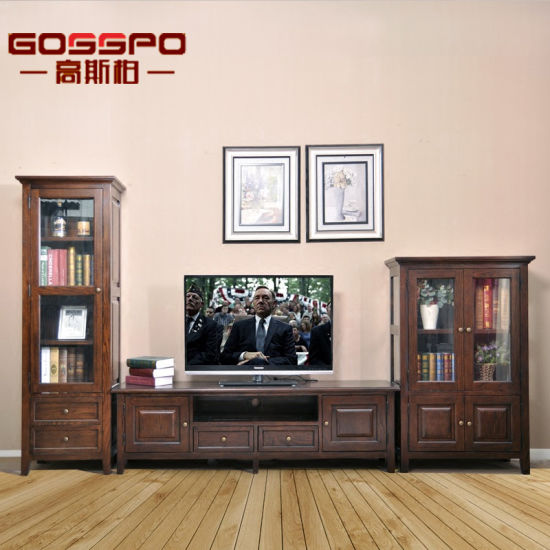 China Modern Simple Design Wood Tv Stand Cabinet Gsp15 006 China