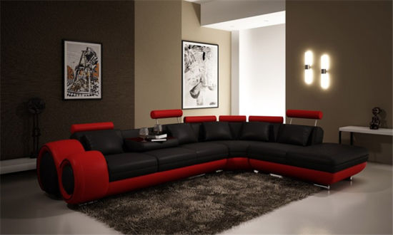 Modern Furniture Living Room Italian Leather Recliner Sofa (HC2002) pictures & photos