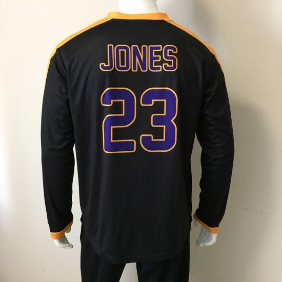 b9025dd6eb5 Custom Sublimated Long Sleeve Basketball Shooting Shirts Warm up Shirts