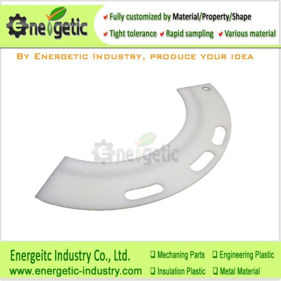 UHMWPE Slide Guide Rail Plastic Machining Services, UHMW Guide Rails/UHMW Channel/UHMW Chain Guide/UHMW Plastic